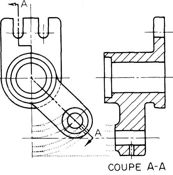 Coupes bris es plans s cants - Coupe et section dessin technique ...