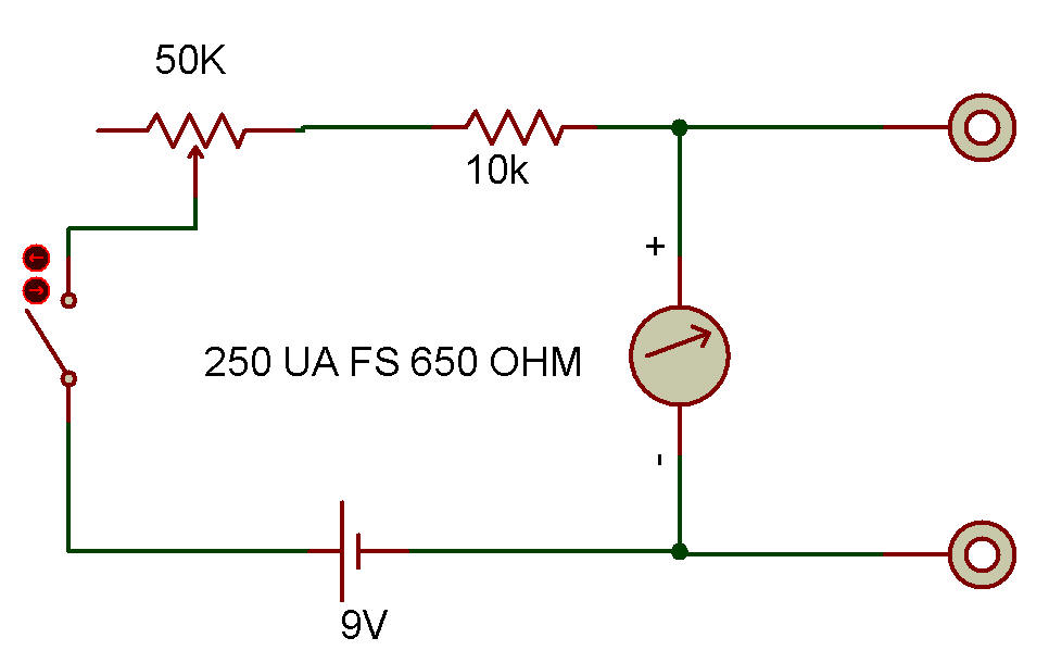reproduce the series type ohmmeter using Possibilities of precision ohmmeter calibration and voltage inverter a3 and dac2 and reproduce at the a3 output voltage opposite to wf3144 c-series / www.