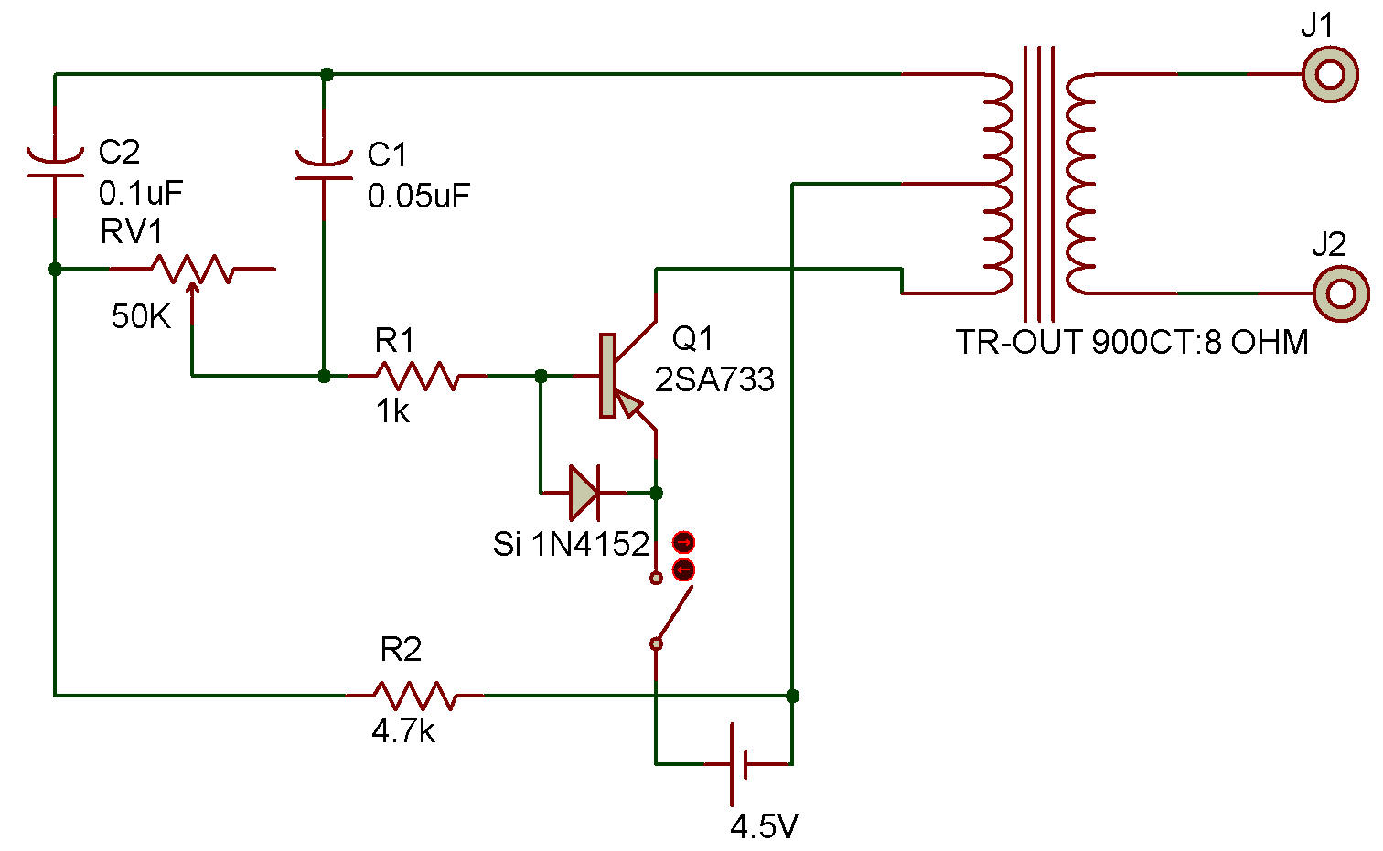 Simple Signal Generator Wideband Test Amplifier Circuit Diagram Tradeoficcom 1512x931