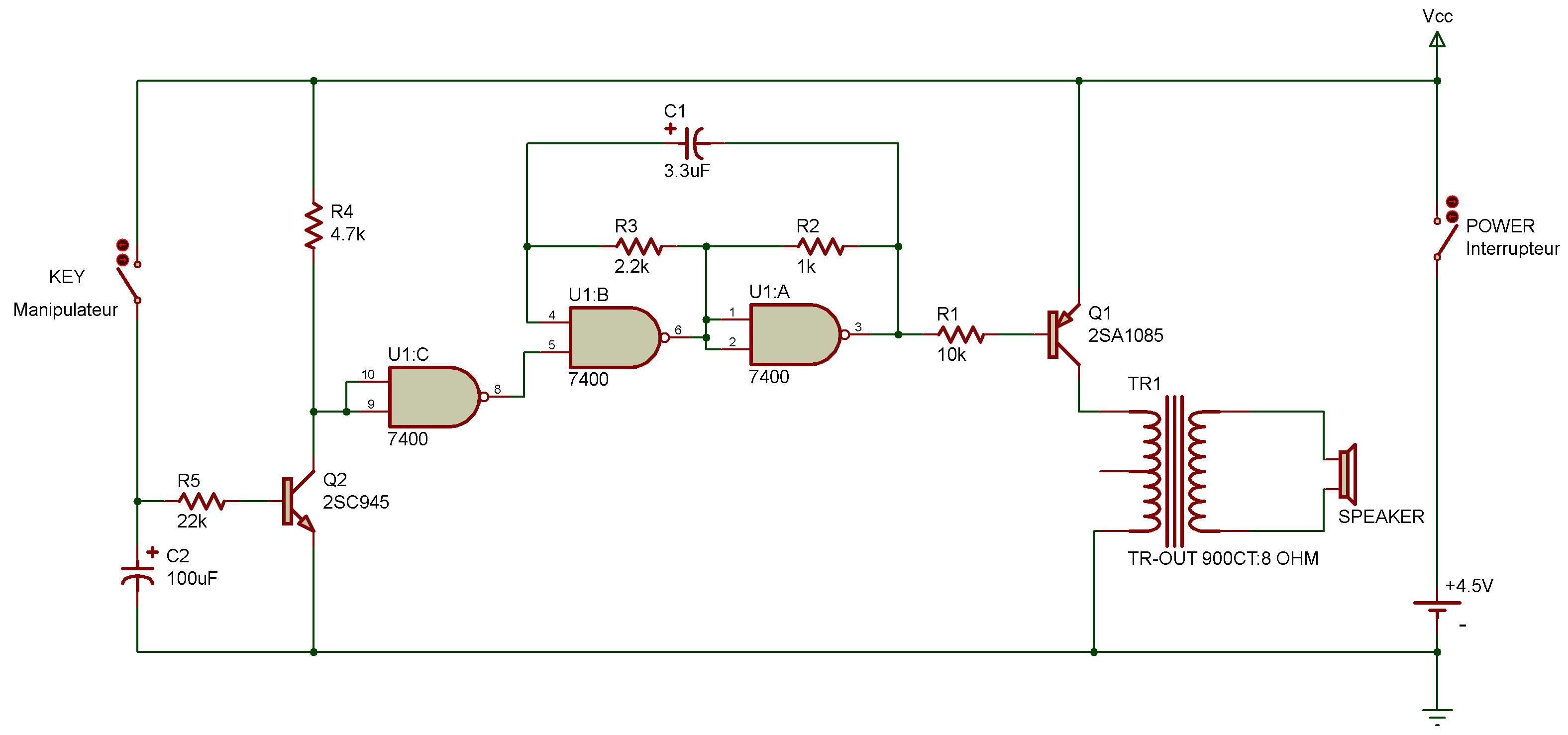 Single Transistor Timer Circuit Diagram Wire Data Schema Relay With Ttl Rh Zpag Net Led