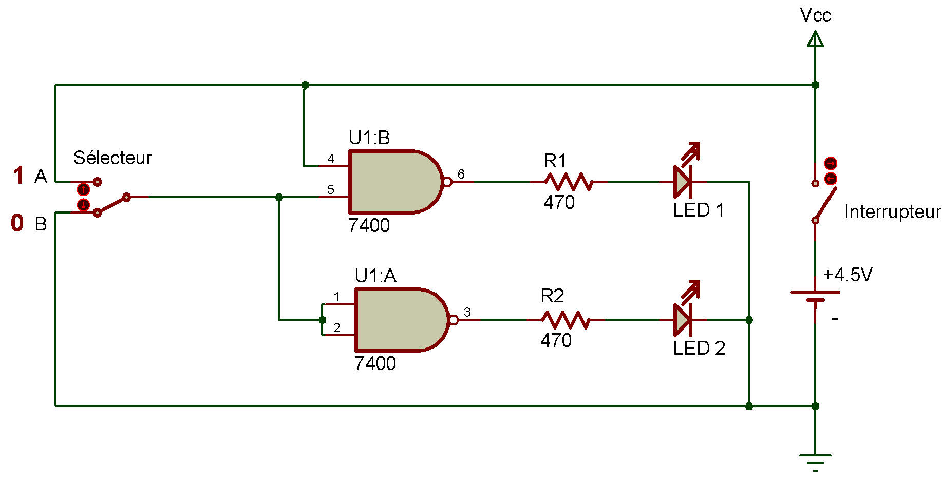 Ttl Inverter This Is A Transistor Logic And Gate Circuit Using