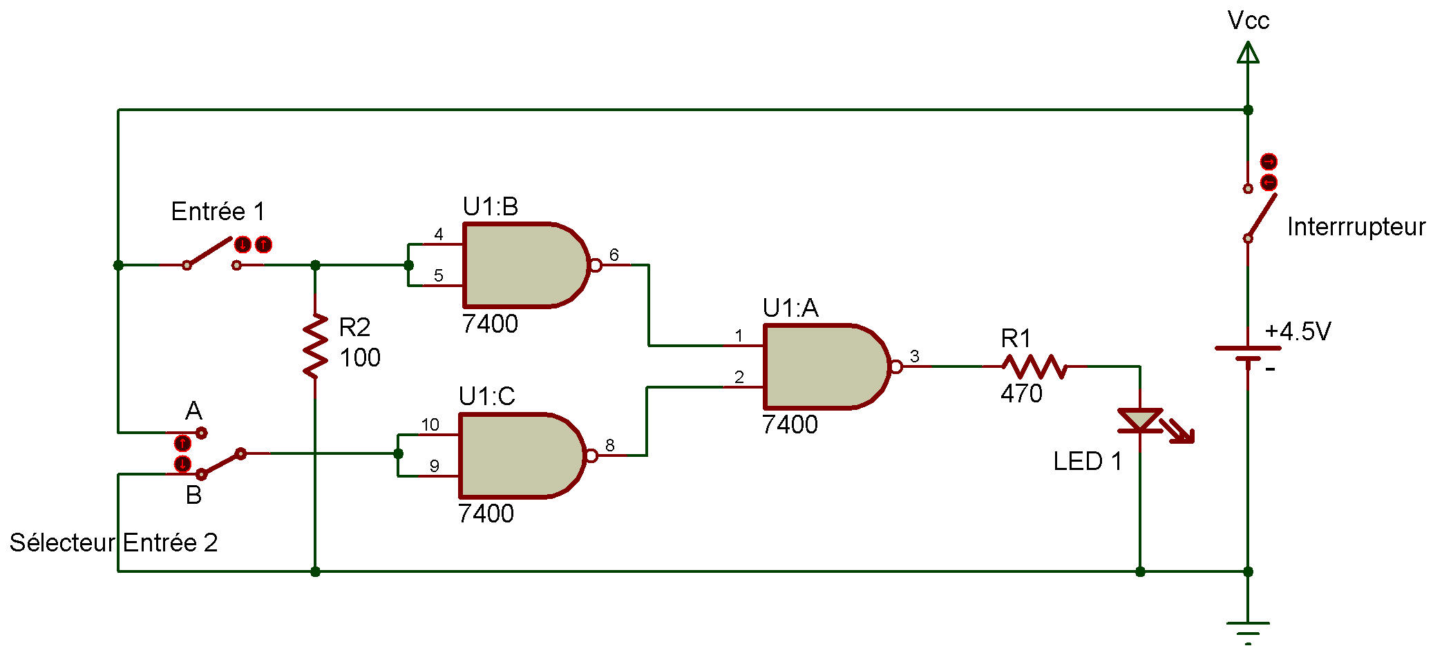 Ttl Or Gate Logic Diagram Using Only Nand Gates