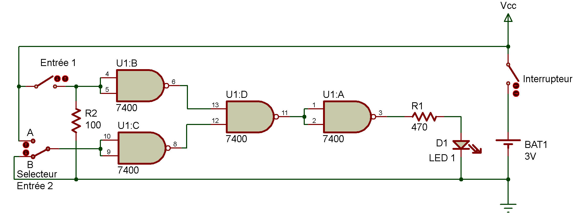 Ttl Nor Gate Logic Diagram Of And