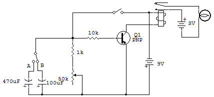 transistor delay circuit using rc time constant Rectifier Circuit R C Time Constant Circuit Diagram #11