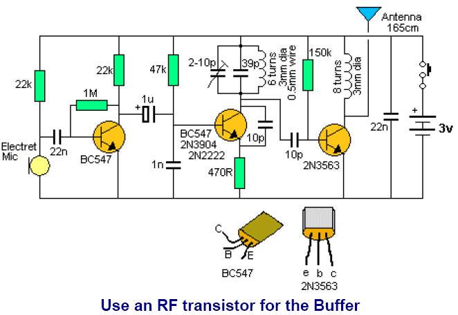 fm 3 transistor circuits Transistor Multivibrator Circuit