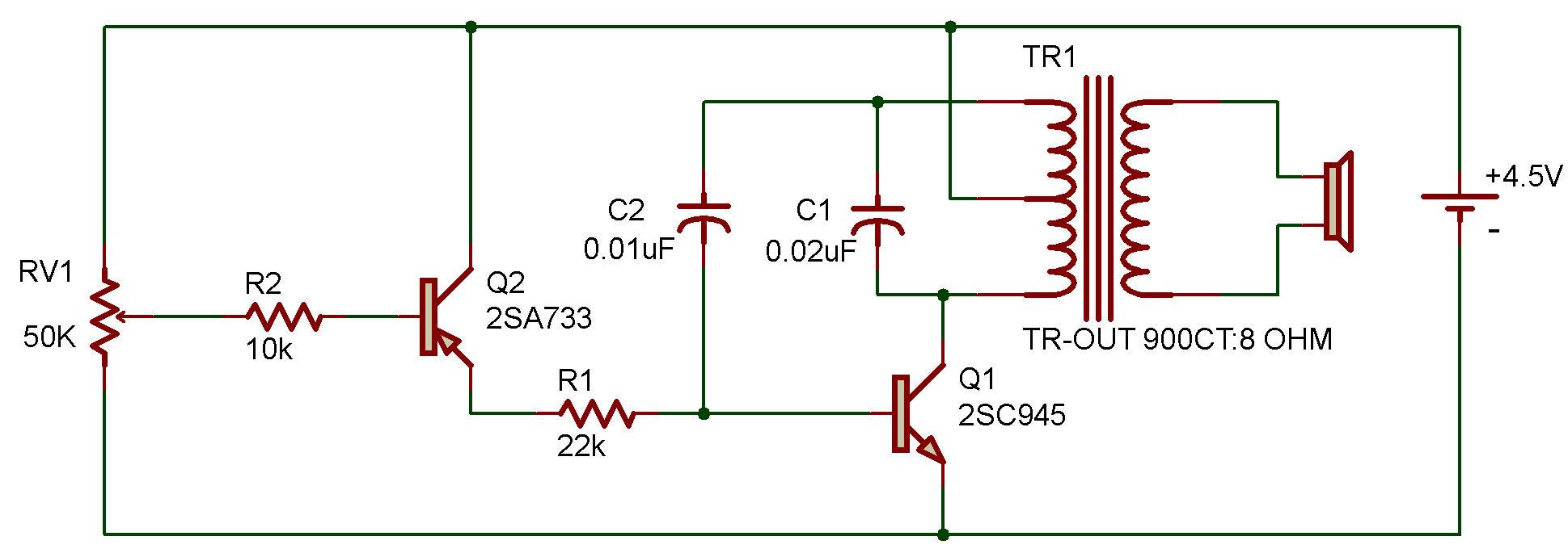 Temperature Sensitive Audio Oscillator Transistor Oscillators
