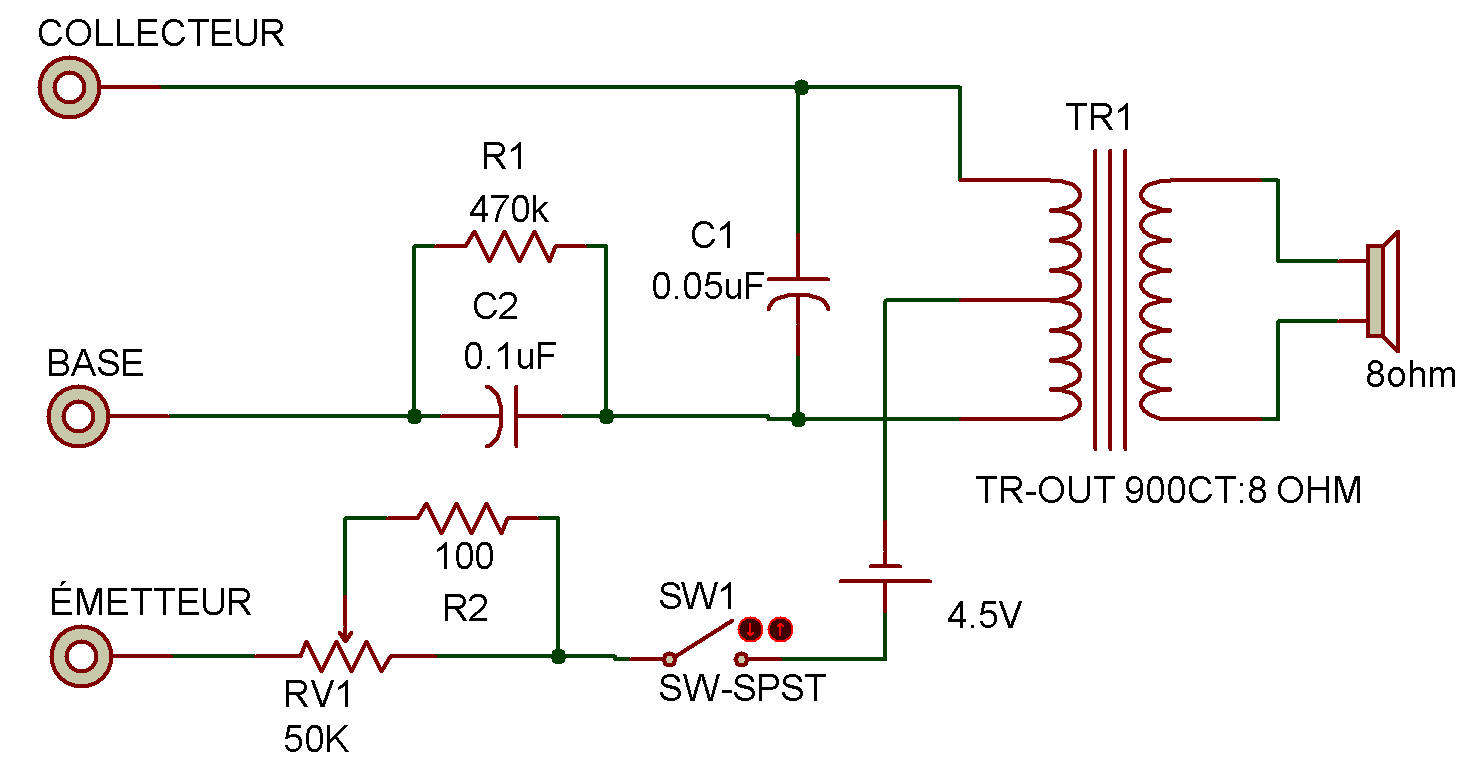 Gain Transistor Tester Circuit Diagram Project Simple Wiring Circuits Projects Checker Relay